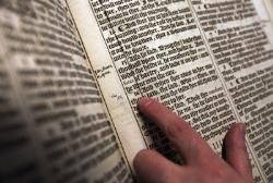 Pope Benedict the Biblical Theologian inspires a Bible Exhibit at the Vatican