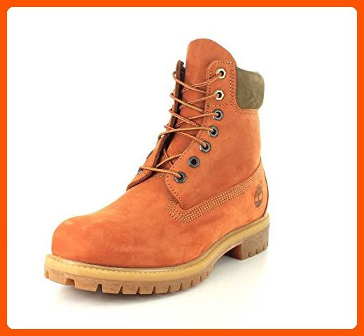4e4333e47d Timberland Mens Limited Release 6-Inch Premium Waterproof Dark Orange  Nubuck Boot - 10 - Mens world (*Amazon Partner-Link)