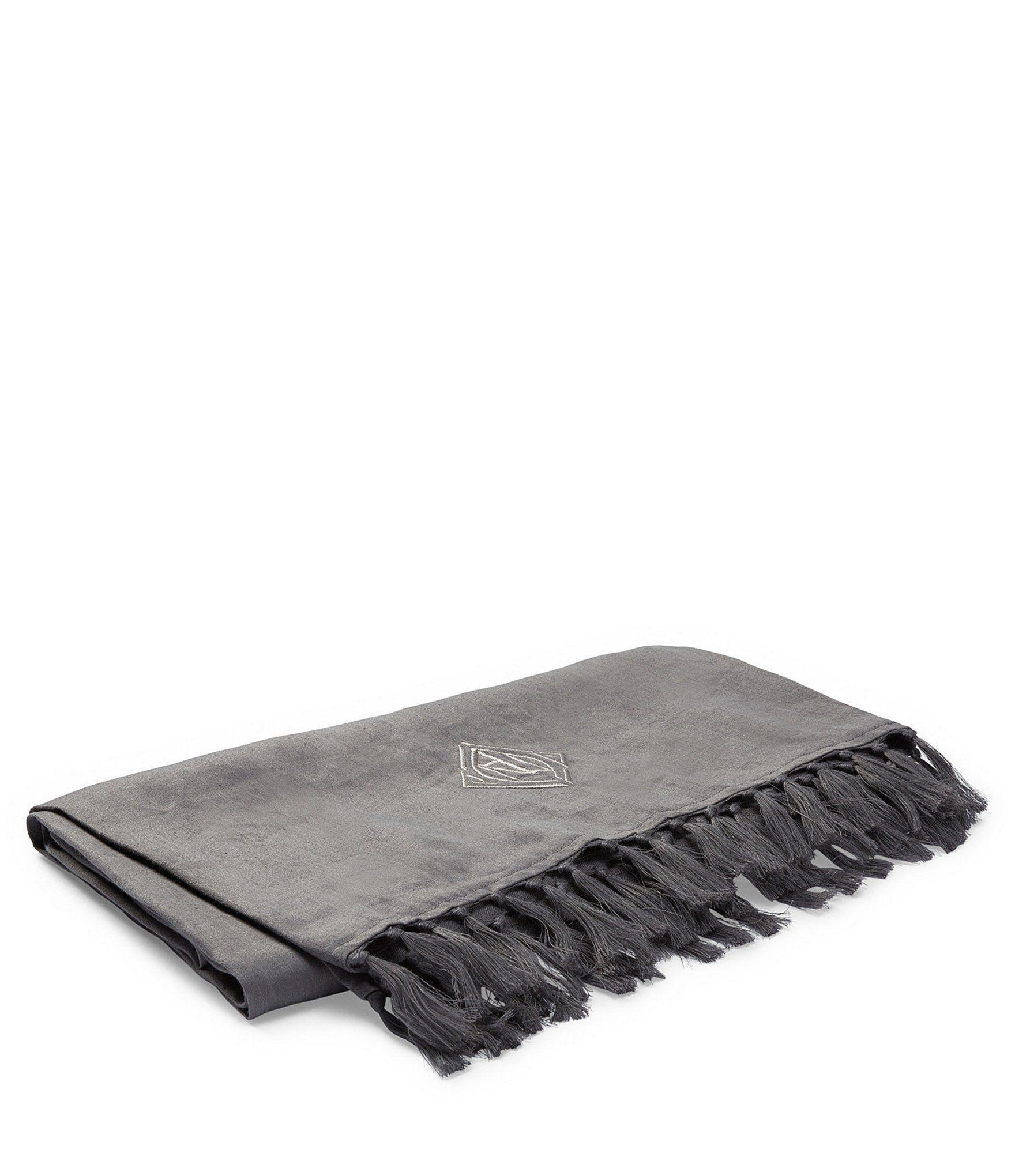 Ralph Lauren Penthouse Grey Collection Aldrich Throw Blanket Charcoal N A Ralph Lauren Collection Art Deco