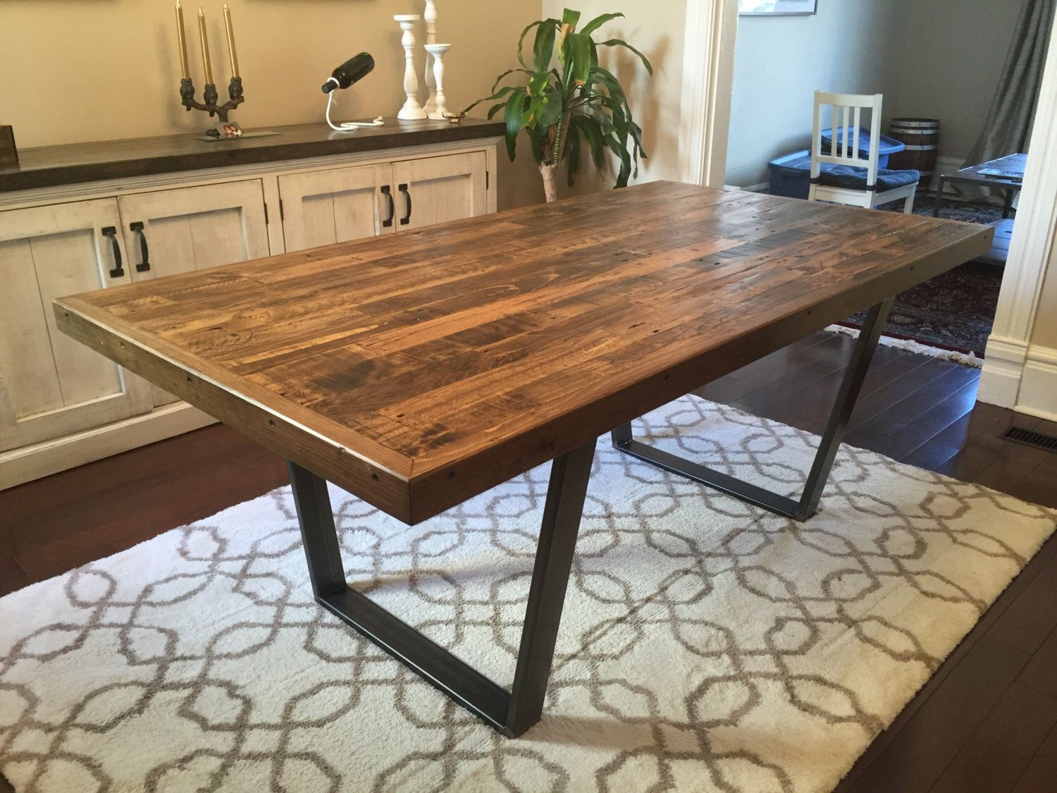Imposing Wooden Pallet Kitchen Table Dining Table Wood Dining