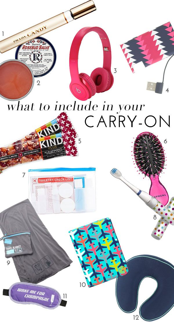 What To Include In Your CarryOn Packing tips for travel