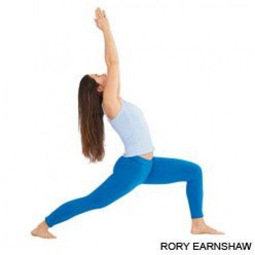 virabhadrasana l the pose that i received my yoga name