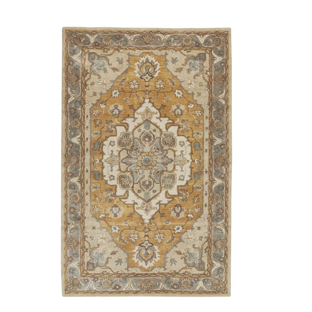 Home Decorators Collection Loire Ivory Gold 8 Ft 3 In X 11 Ft Area Rug Home Decorators Rugs Clearance Rugs Rugs