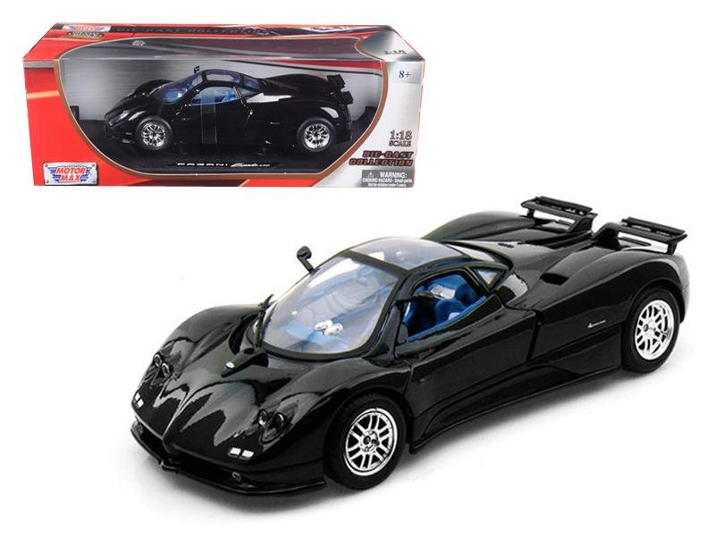 Pagani Zonda C12 Black 1/18 cast Car Model by Motormax - Brand ...