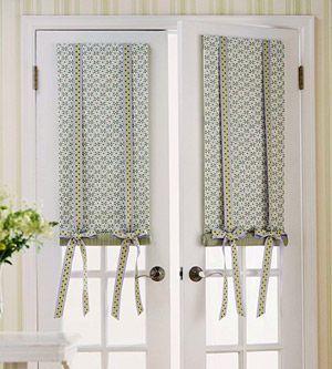 Estilos de cortinas para la cocina te gustar n door for Estilos de cortinas