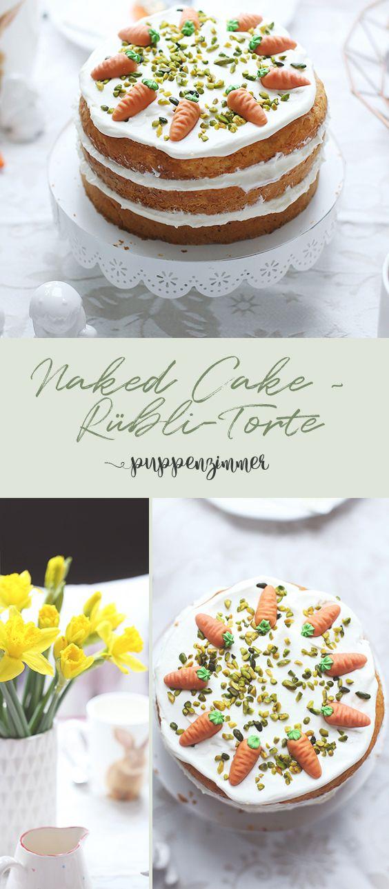 Photo of Easter preparations: Naked Cake ~ Rübli cake