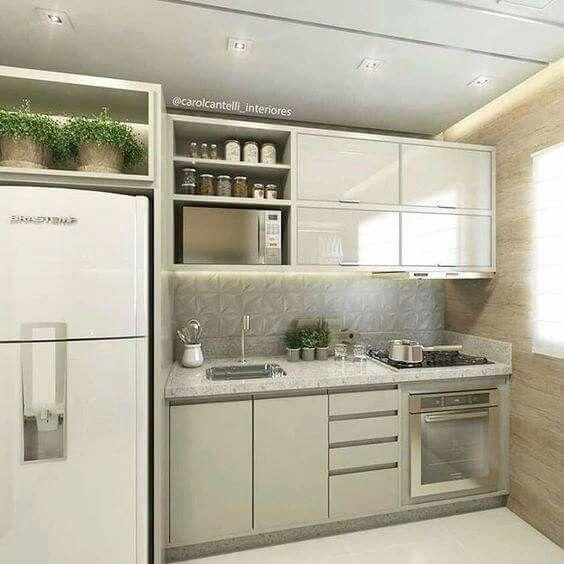Pin de charles en cocinas pinterest cocinas cocinas for Cocinas integrales modernas chiquitas