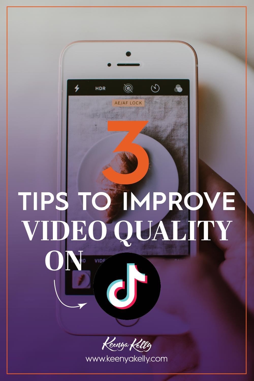 3 Tips To Improve Video Quality On Tiktok Blog Marketing Web Banking Credit Card Statement