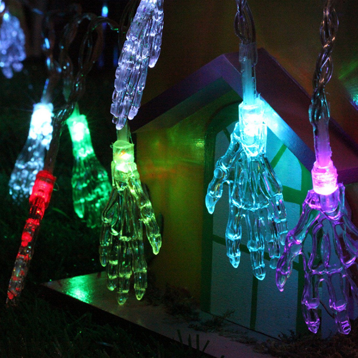 lawn fairy led decorative holiday home lights patio qedertek string solar christmas decorations dp for lighting blossom garden outdoor and flower party decor