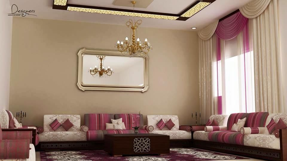 1000 images about salon marocain beldi on pinterest mauve the purple and search - Model Decoration Salon Moderne
