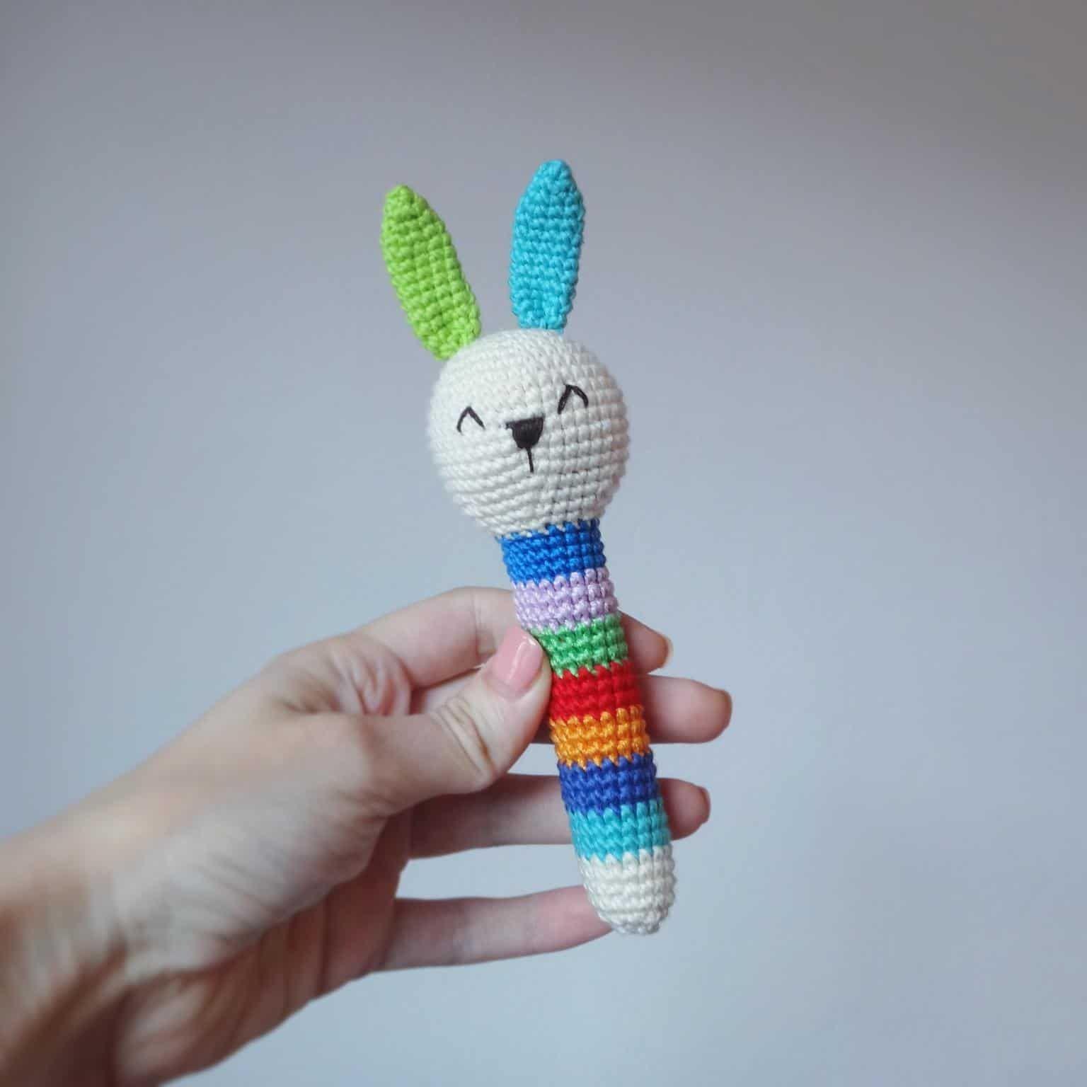 Сrochet Tier Rasseln frei Kaninchen Muster | Amigurumi | Pinterest ...