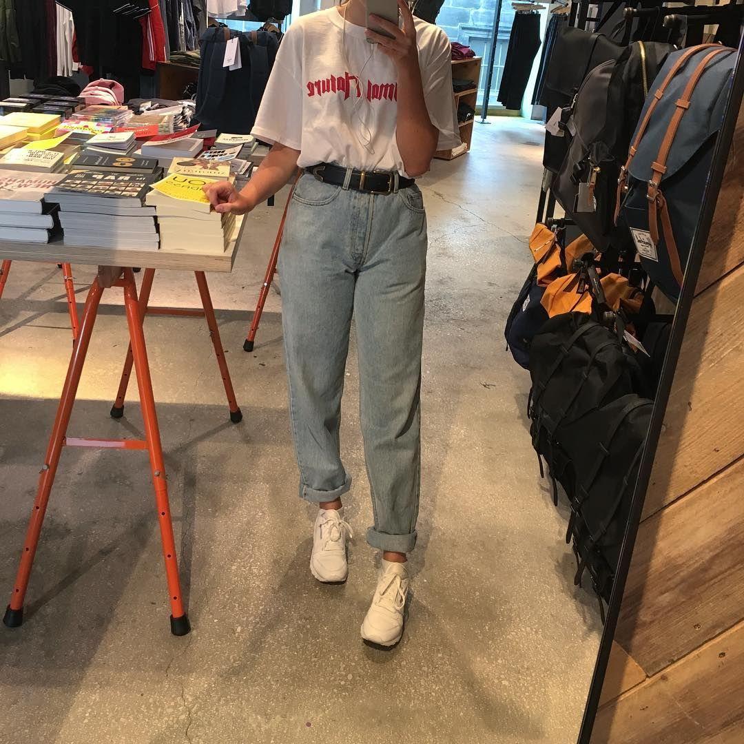 Image result for grunge mom jeans vintage 90s look