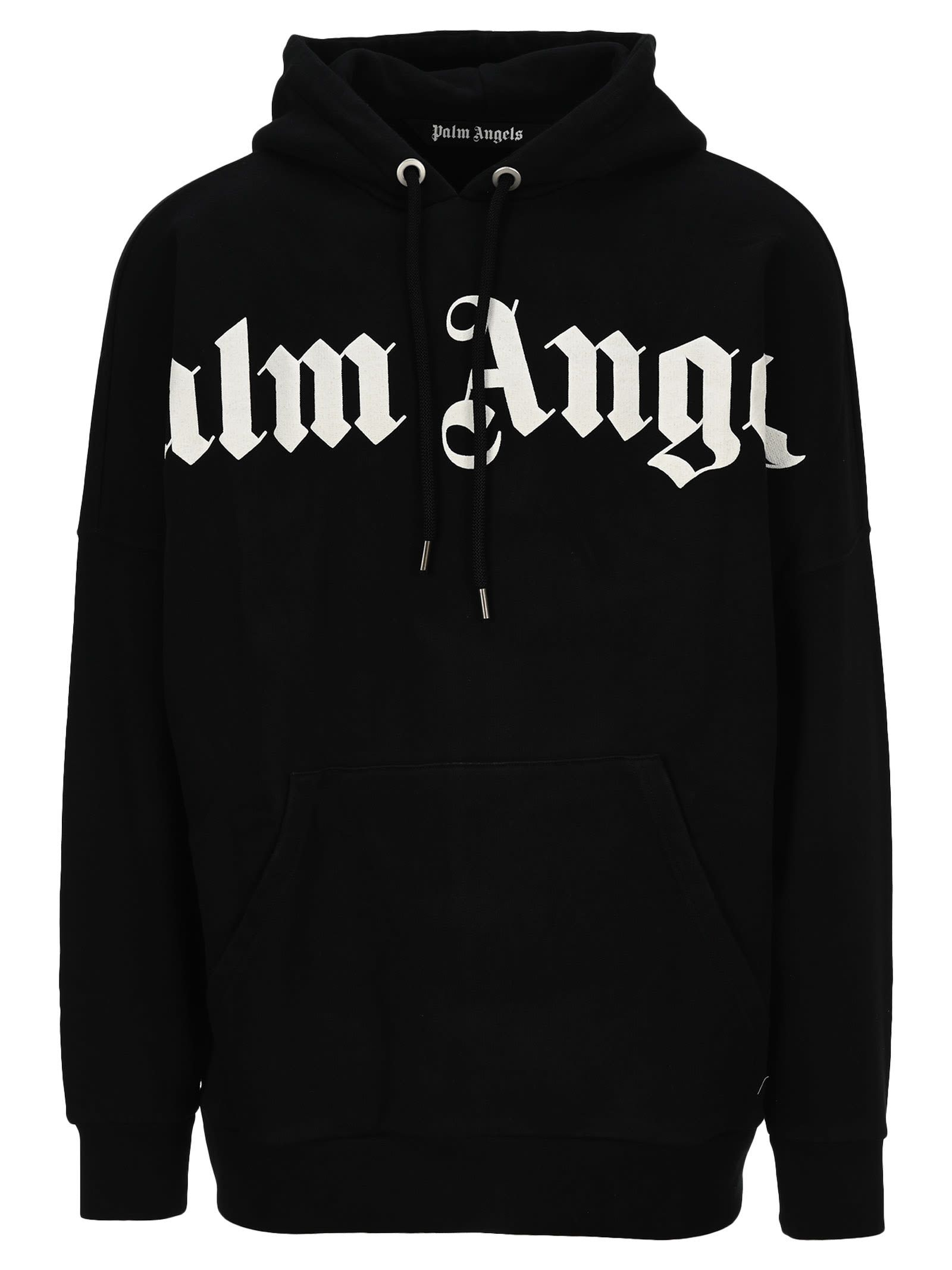 Best Price On The Market At Italist Palm Angels Palm Angels Logo Hoodie Hoodies Palm Angels Cotton Logo [ 2136 x 1600 Pixel ]