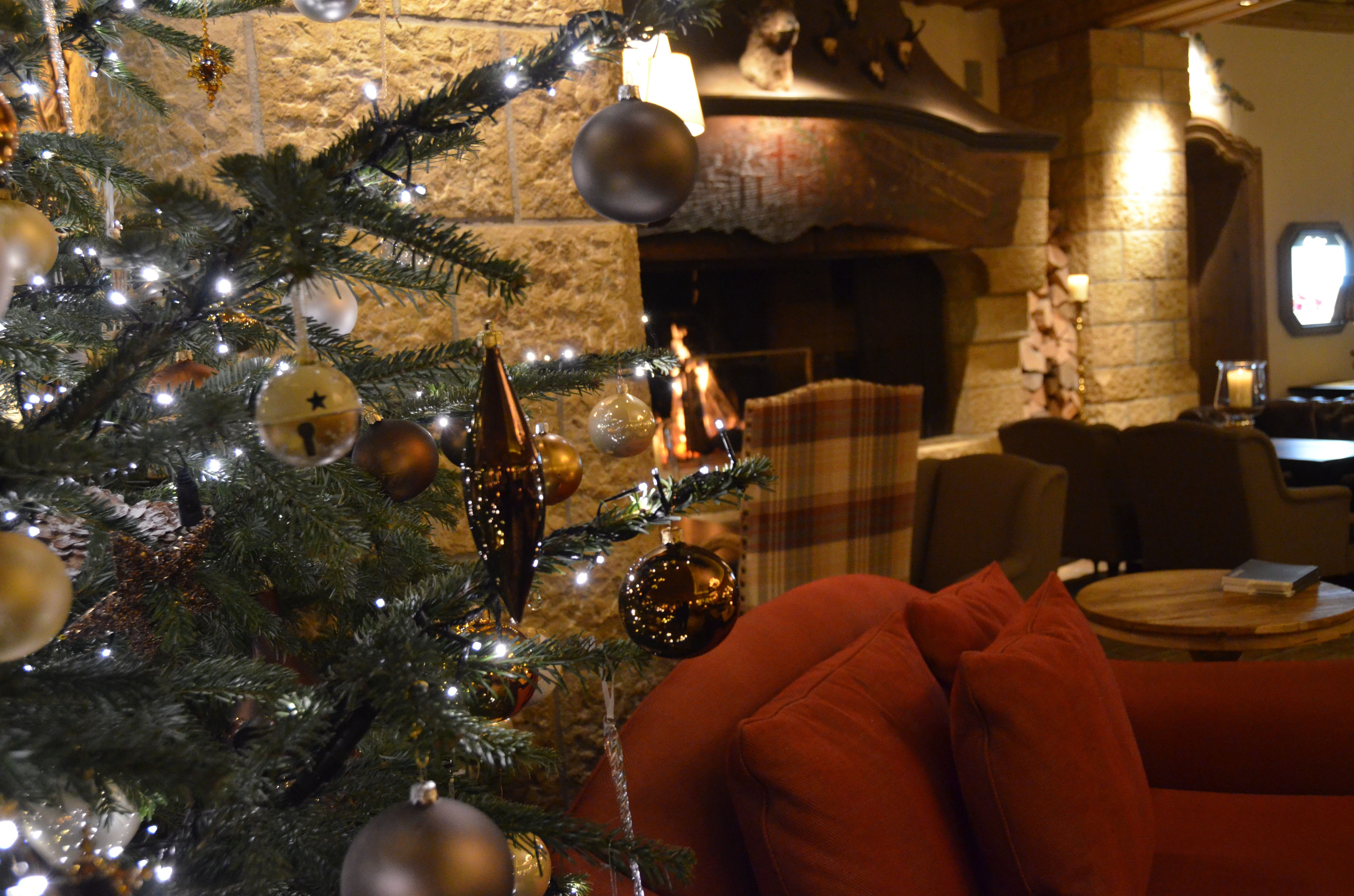 A warming night cap, an open fire and the crackle of burning wood - what could be better?