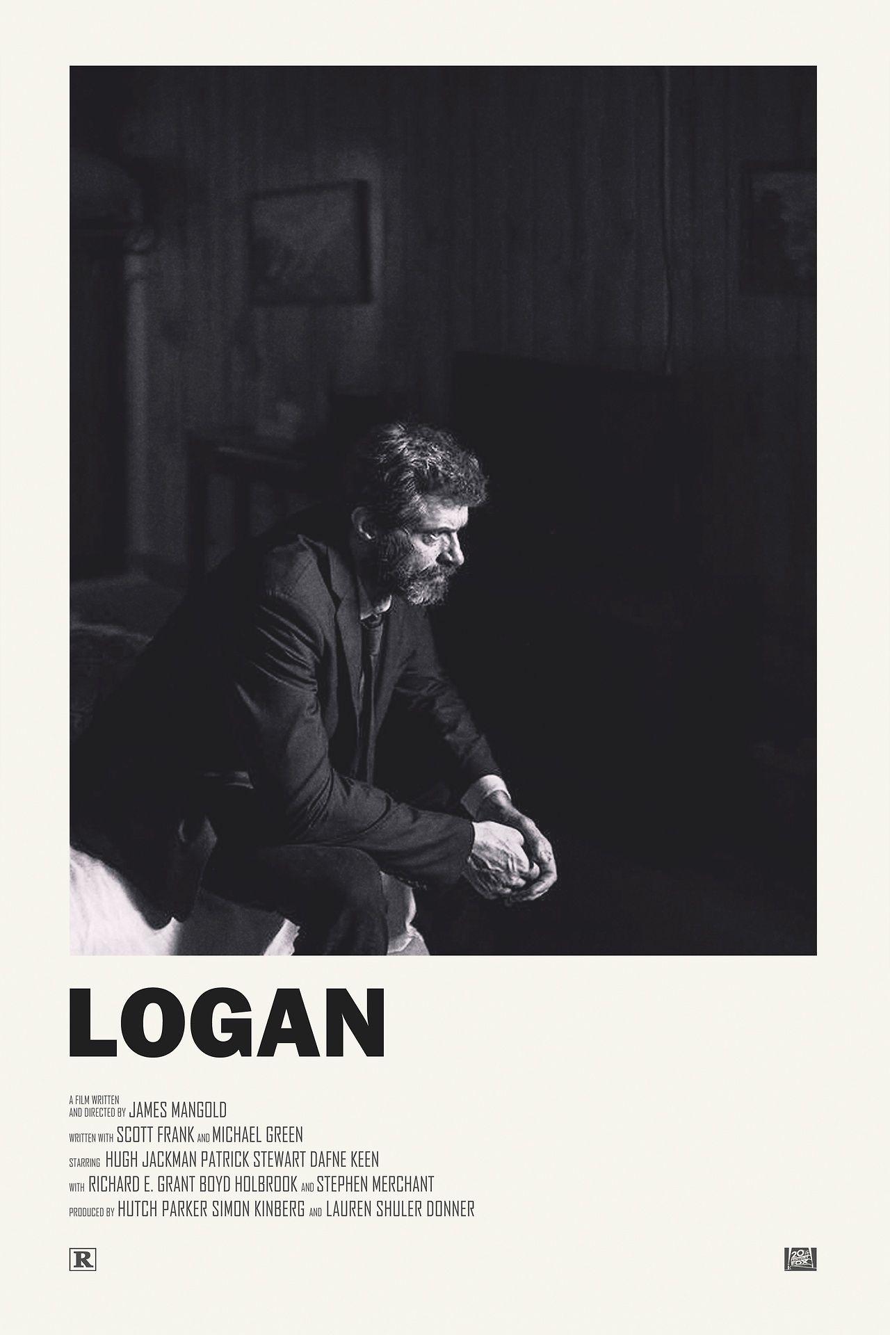 Logan movieposter design marvel