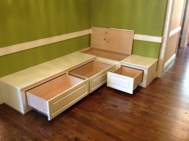 Dining Room Bench Seating With Hidden Storage Built Ins Seat Wooden And For Kitchen Table
