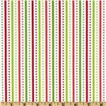 Brrr! Dotted Stripe Holiday Green/Red