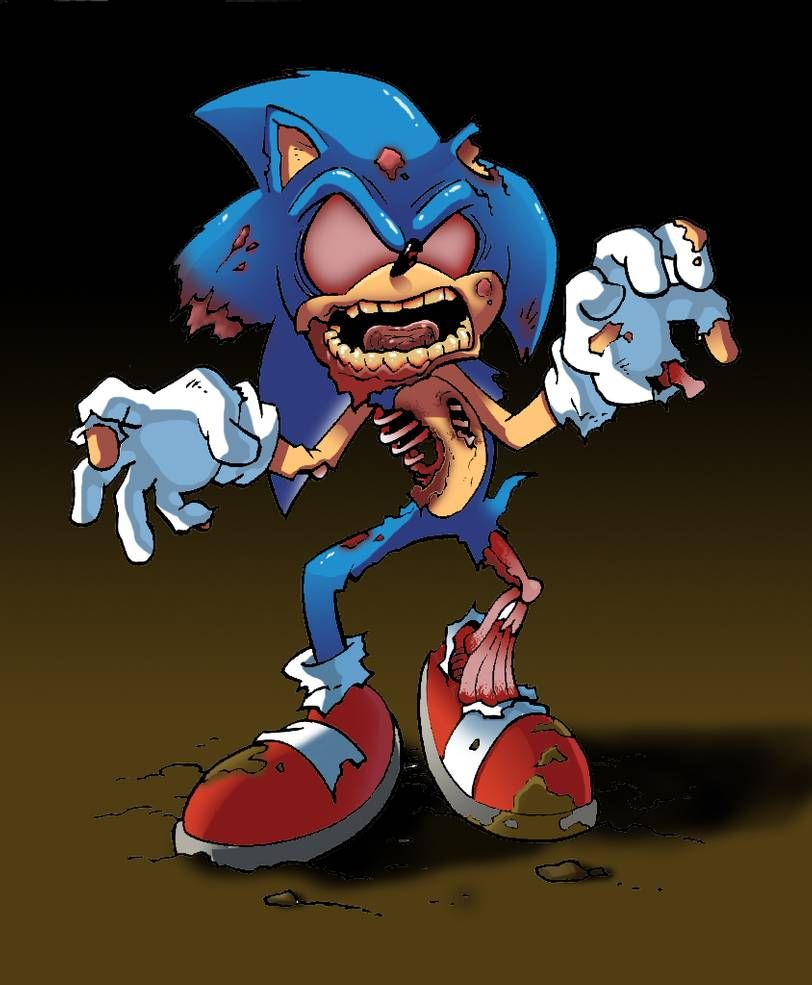Zombie Sonic By Jr343 Sonic Zombie Transformers Artwork