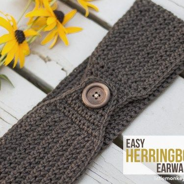 Providence Scarf | Free buttons, Herringbone and Monkey