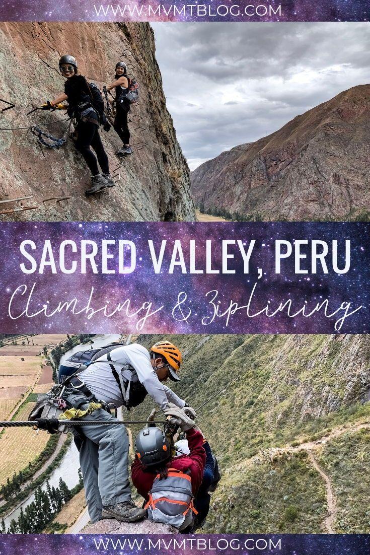 Climbing Via Ferrata And Zipline Adventure In the Sacred ...