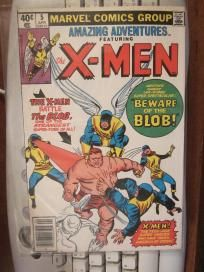 X-men #5 in AMAZING ADVENTURES #5 The BLOB early reprint of early series; sparta paper free shipping