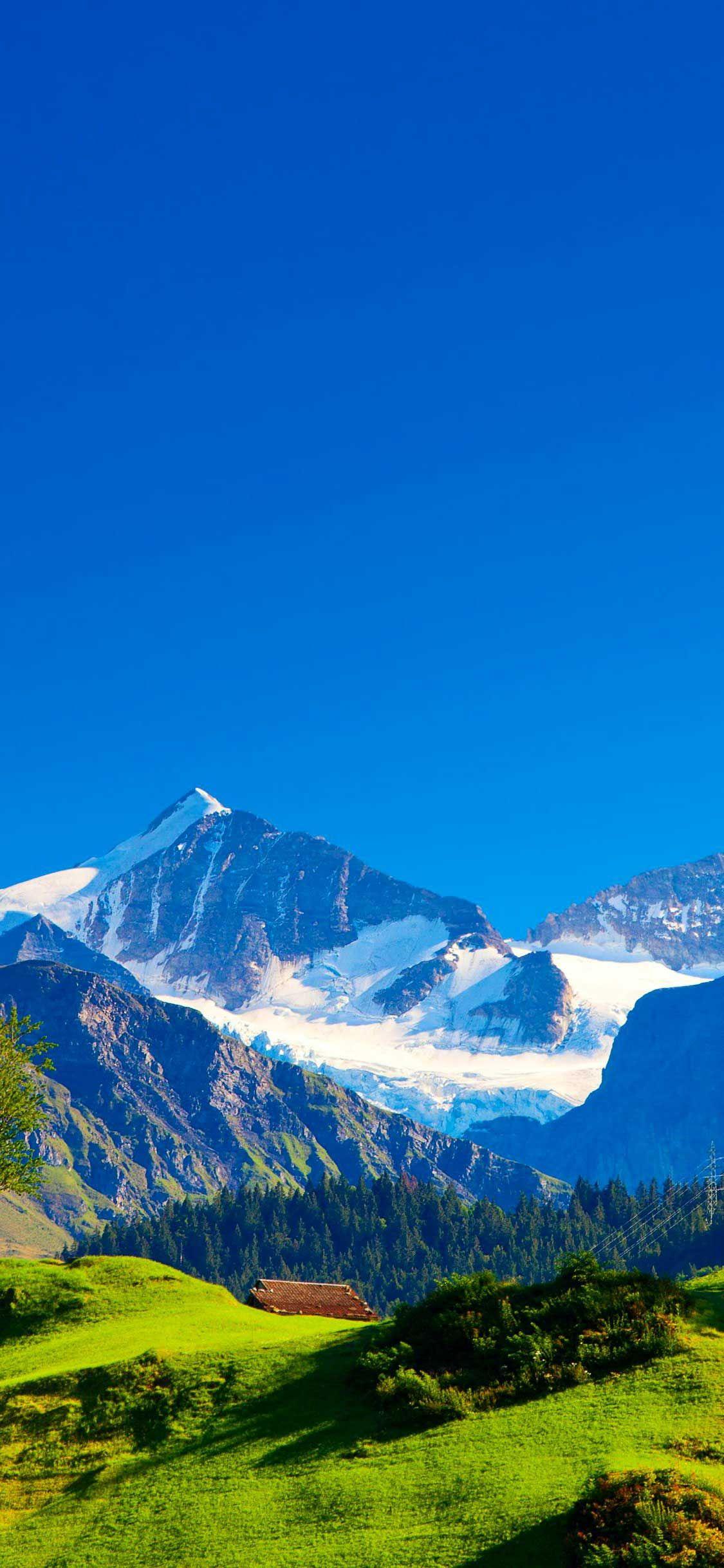 Iphone Pro Wallpaper Switzerland alps mountains landscape