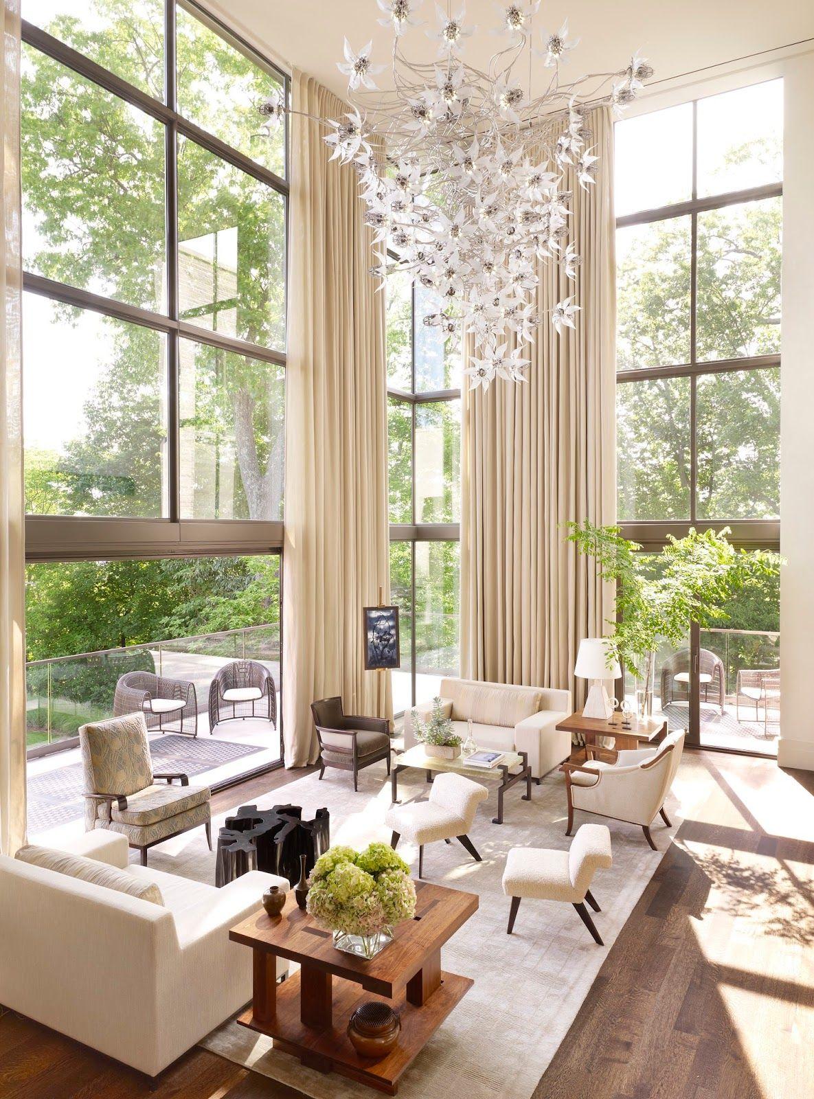 Window Inspiration Window Ideas Window Exterior Windows Repurposed Windows In Kitchen Windows In Living Rooms House Design Home Decor Living Decor #window #design #for #living #room