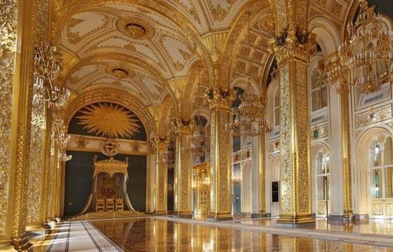 Inside Moscow S Grand Kremlin Palace Castle Backdrop Kremlin