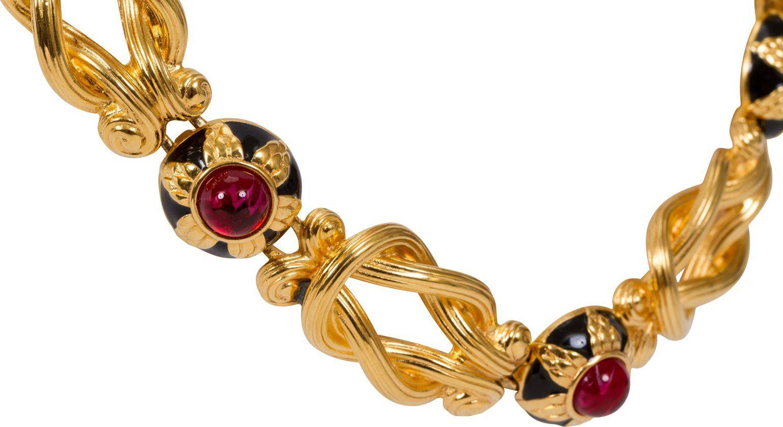 Fendi Gripoix Choker Necklace Necklaces Jewelry