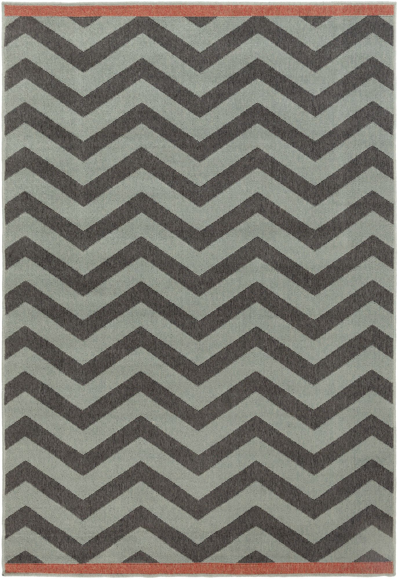 Alfresco Black/Moss Area Rug