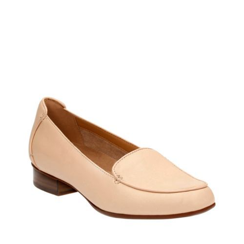 Womens Shoes Clarks Keesha Luca Nude Leather