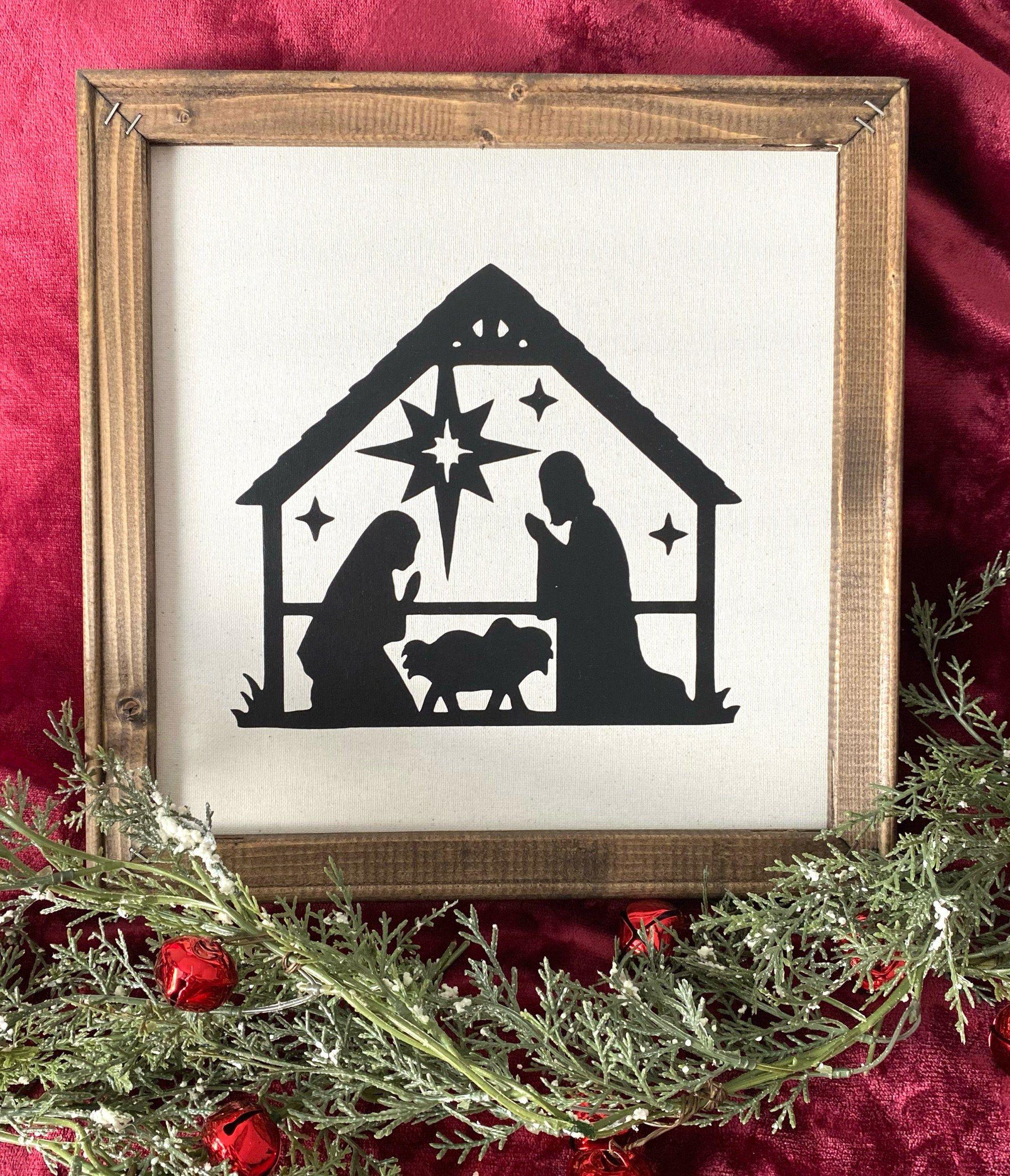 40++ Farmhouse style nativity scene best