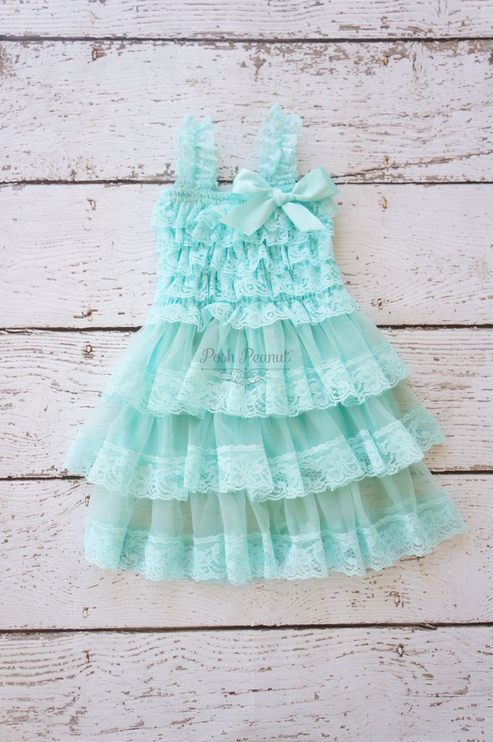 Flower Girl Dresses Tiffany Blue Flower Girl By Poshpeanutkids