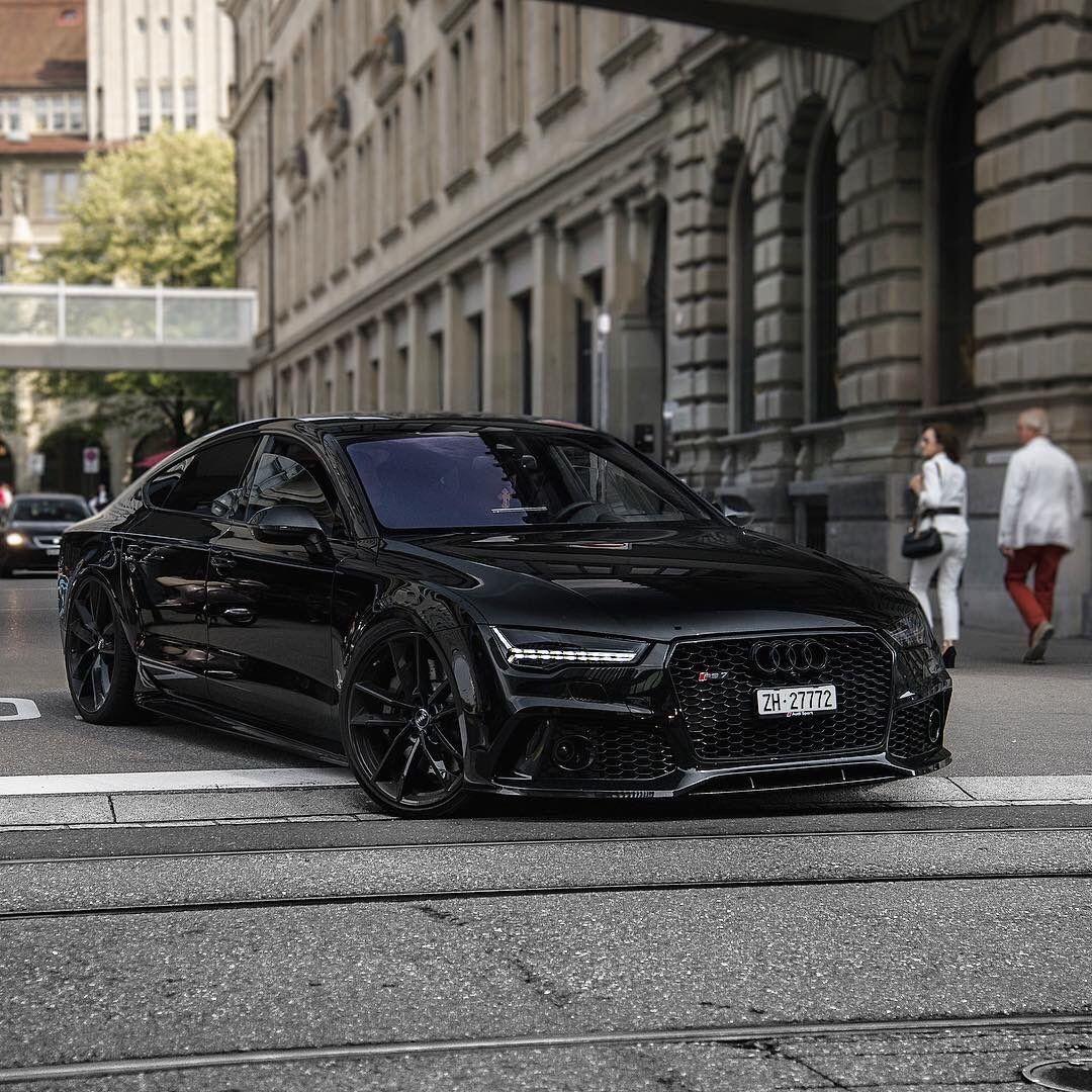 Audi RS7 Black audi, Audi rs7 sportback, Audi s5 sportback