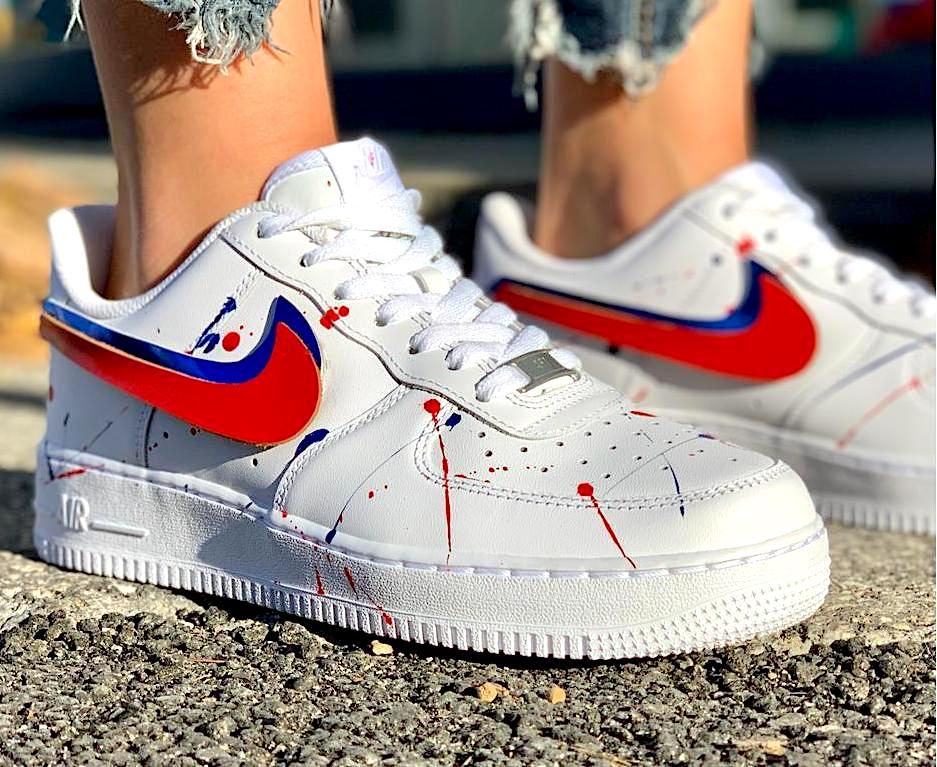 air force 1 baffo bianco