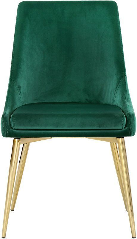 Karina Upholstered Dining Chair | Dining chairs, Green ...