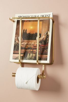 Photo of Magazine And Toilet Paper Holder