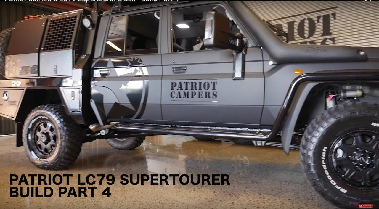 Patriot Campers LC79 Supertourer Black - Build Part 4