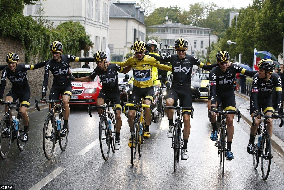 Chris Froome claims historic Tour de France victory as