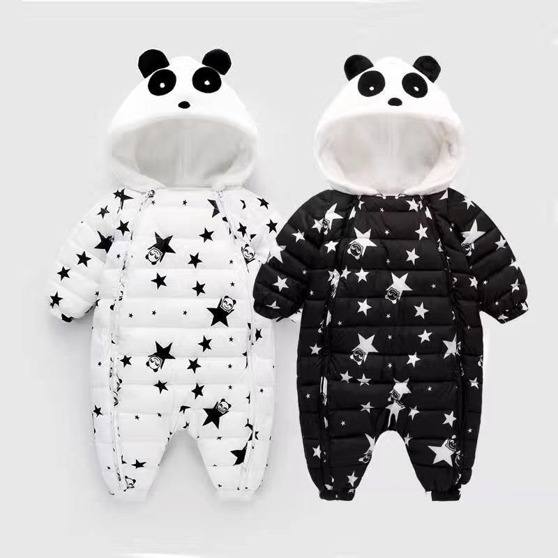 e2983fe88 BibiCola Newborn Thick warm Rompers Infant baby Winter clothes Baby ...