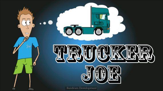 Игра Trucker Joe на ПК   Игры, Люди, Приложения