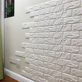 3d Brick Pattern Wallpaper Bedroom Living Room Modern Wall Background Tv Decor Walmart Com Faux Brick Wallpaper White Brick Wallpaper Brick Wallpaper