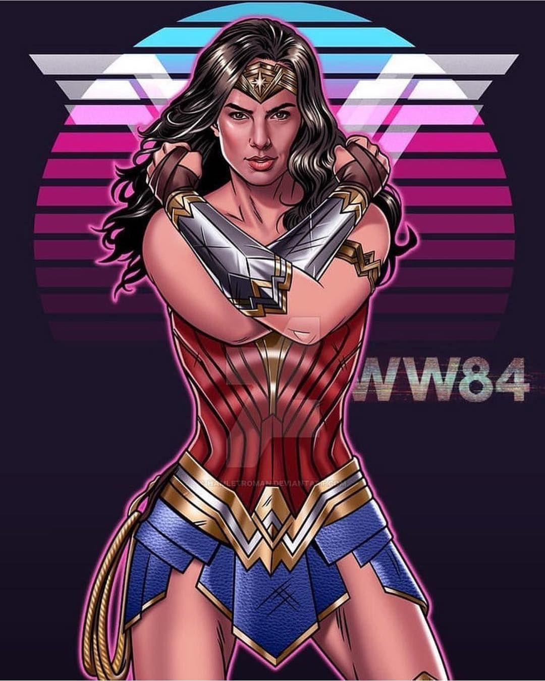 Gal Gadot Is Wonder Woman On Instagram Wonder Woman 1984 Gal Gadot Art By Hamletromanarte Sharing My Res Wonder Woman Comic Wonder Woman Wonder Woman Art