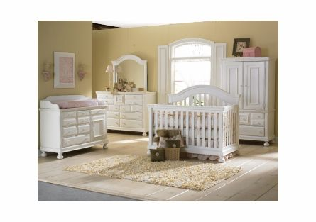 586eaf8b19e Summer s Evening Convertible Crib - Rubbed White by Creations Baby Furniture.  This may be the one!!!  ). Love it!!!