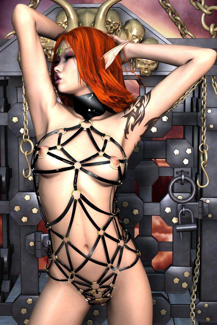 Evinessa Sexy Elf Strip 001E by Evinessa | 3D Digital ...