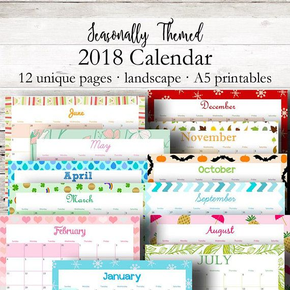 Printable Monthly Calendar  Monthly Planner  Filofax