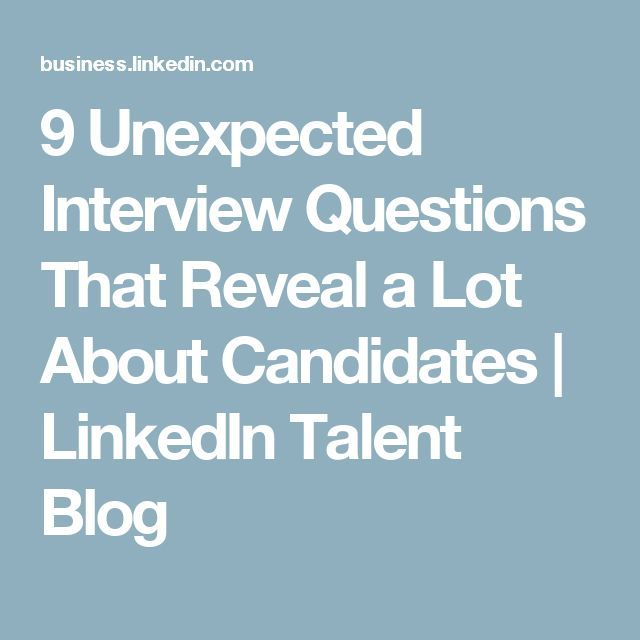 Captivating Awesome 9 Unexpected Interview Questions That Reveal A Lot  About Candidates   LinkedIn T.