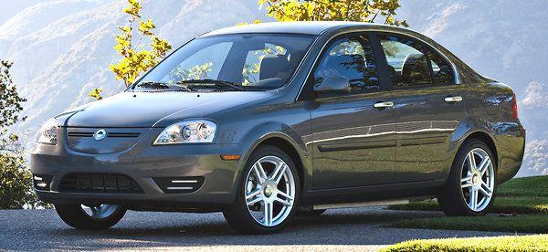 Coda black sedan 2012 model