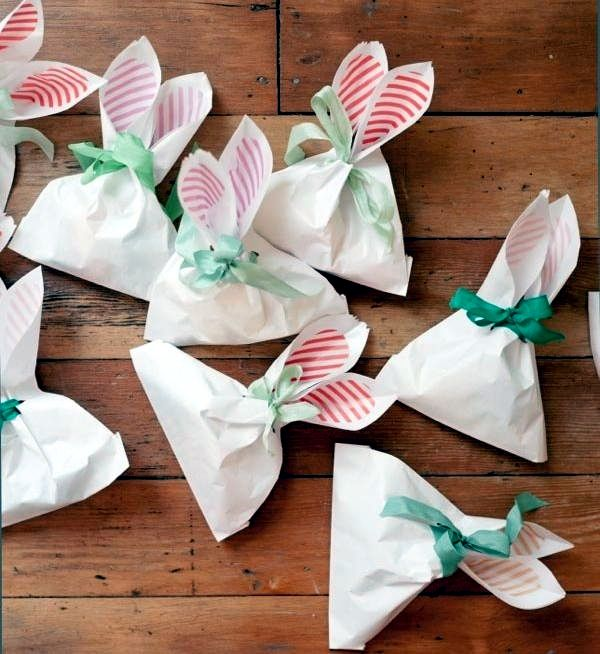 Easter spring craft ideas pinterest easter easter crafts bunny ear bags diy via oh happy day easter ideas for the cousins negle Images