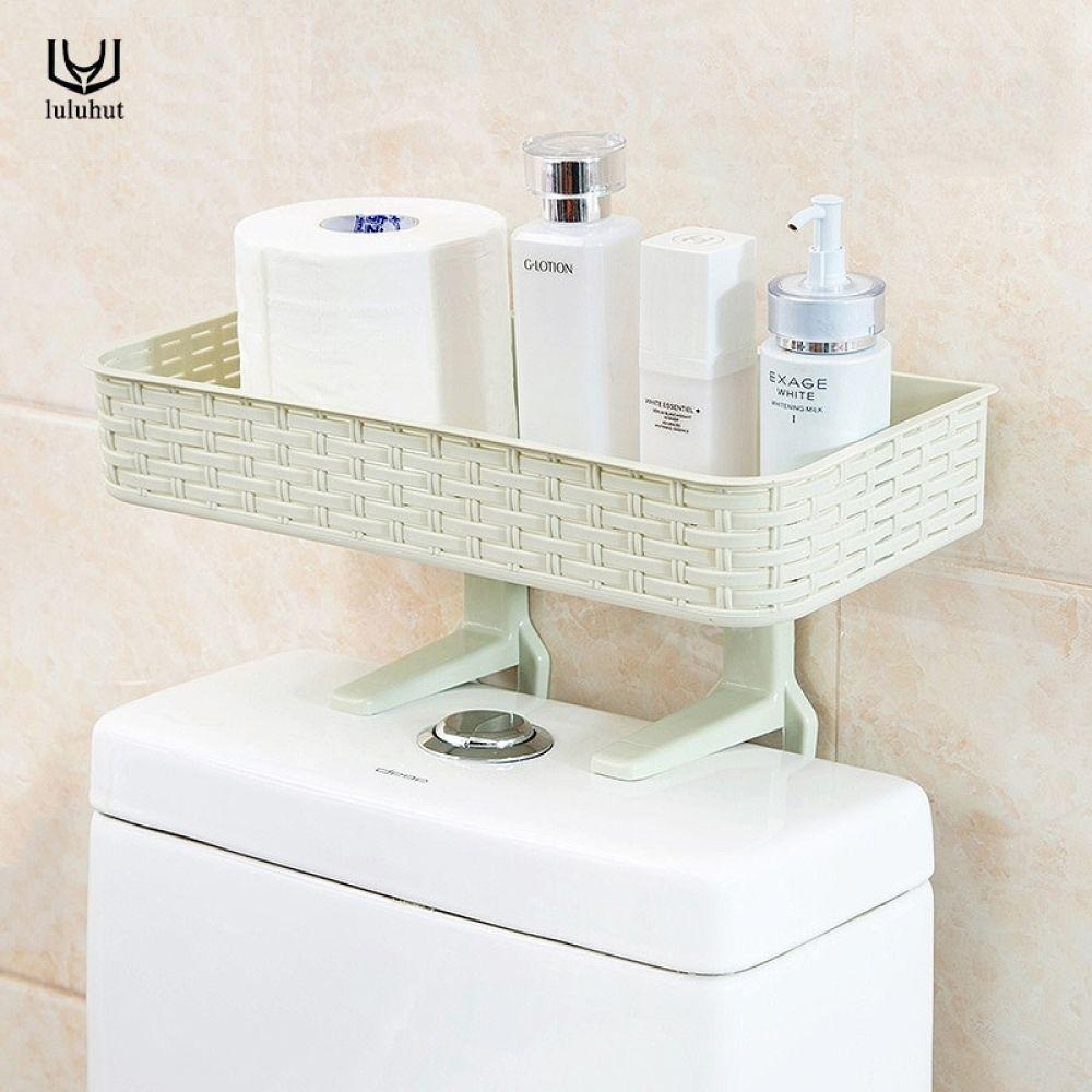 Plastic Bathroom Shelf Wall Suction Napkin Holder Reusable Seamless Sucker Toilet Shelf Bathroom Basket H Toilet Storage Bathroom Organisation Bathroom Baskets [ 1000 x 1000 Pixel ]